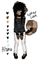 Alana Winter Look by GhostTulip