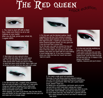 RED QUEEN. Makeup Tutorial. by oGuren