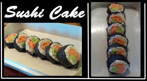 Sushi Cake by Fred-Weasley