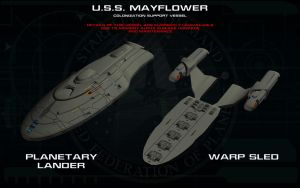Mayflower Colonization Vessel 2 by unusualsuspex