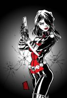 Ultimate Black widow by channandeller