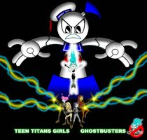 Teen titans girls ghostbusters by mayozilla
