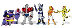 Mighty Orbots by strangefour