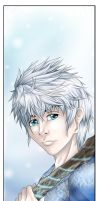Jack Frost Bookmark by Sarieu