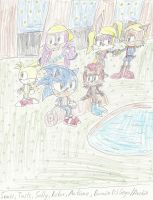 Freedom Fighters at Knothole by mastergamer19