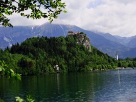 Dvorac Bled by animatorV