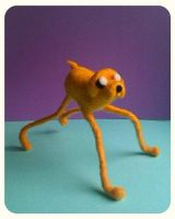 Adventure Time: Felted Jake by michelleness
