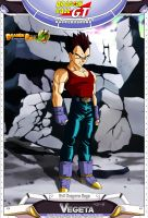 Dragon Ball GT - Vegeta by DBCProject