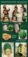 Raphael Shell - Halloween Costume 2013 by Queequegg