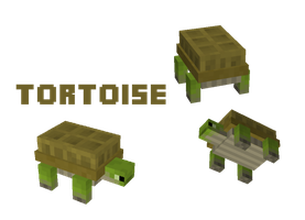 Minecraft Mob: Tortoise by Marcus123474