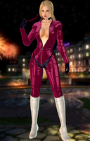 Nina Williams(Pink Catsuit MOD) Tekken by xXKammyXx