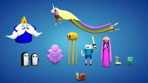 Adventure Time 3D fan art animation Land Of OOO by D-Ginz