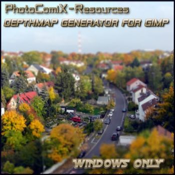 Depthmap Generator for Gimp by photocomix-resources
