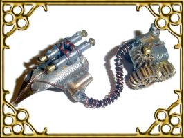 Steampunk finger stylist  v.02 by Teacat-Designs