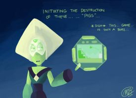 Peridot Plays Angry Birds by MPL52293