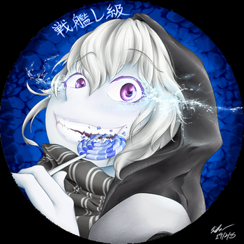Kancolle Re-Class Pin Badge Design by cybershadowraven