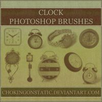 clock brushes by chokingonstatic
