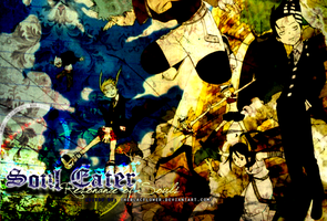 Soul Eater Wallpaper 001 by theBlacFlower