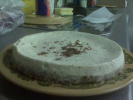 Chocolate Orange ginger based Cheese-cake by Fourdd