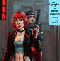 Girls with Guns (Shadowrun) by Seattle2064