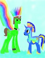 Make Bluestar A Knight of the rainbow by daylover1313