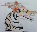Tiger Lily Dragon by Mightyana190