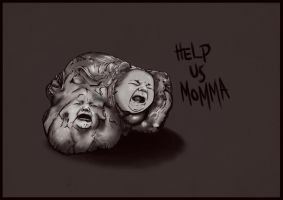 Help Us Momma by Mckdirt