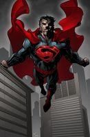 Commission: Man Of Steel by K-Bol