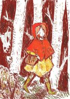 Little Red Riding Hood by lavender-lemonade