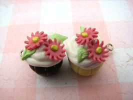 Pair of Cupcakes by Miss-Millificent