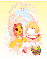 Happy Easter 2014 by luna777