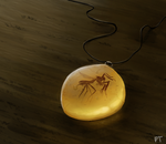 DAY 433. Amber Necklace by Cryptid-Creations