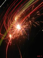 Fireworks New Year by Khrys90