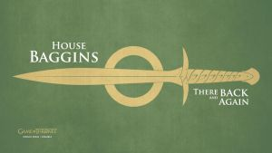 Wallpaper GoT Baggins by Lokiable
