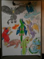 Skylanders colour by WhiteOrchid14