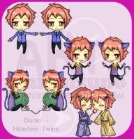 Trade - Ouran Twins by Umi-Mizuno