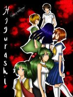 Higurashi When They Cry by THE-L0LLIP0P