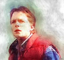 Marty Mcfly by Pixelcarver
