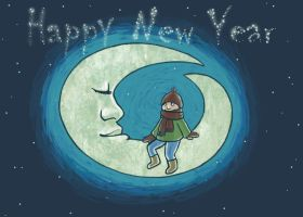 Happy New Year by Finnguala
