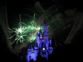 Disney Fireworks 3 by ModernMessiah-Photos