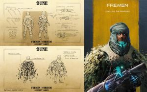 Dune Concept Sheet FREMEN by AlcoholicHamster