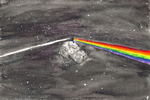 The Dark Side Of The Comet by BluLizard