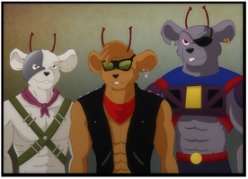 Biker Mice From Mars by WyldeElyn