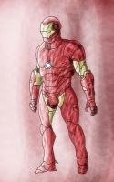 Iron Man Coloured by FableWing