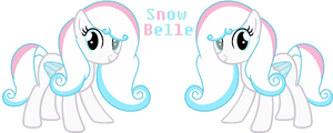 SnowBelle (Official Ref) by Sky-Winds