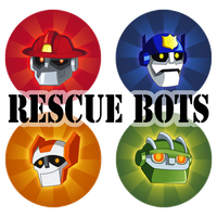 Rescue Bots Pins by NightLokison