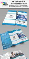 Creative Corporate Tri-Fold Brochure Vol 18 by jasonmendes