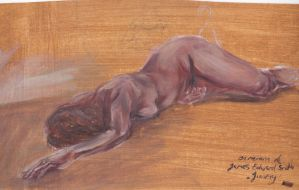 Nude study by Silphes