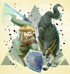FF: Link (Twilight Princess) by DragginCat