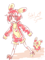 Sahil the Spinda by TarunaRei